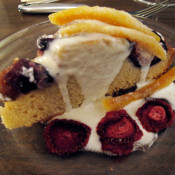 Fig Cake with Candied Orange