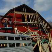 Bradley Farm Barn Renovation nearing completion...